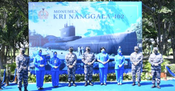 Wadan STTAL Hadiri Peletakan Batu Pertama Pembangunan Monumen KRI Nanggala-402 oleh Kasal