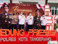 Tingkatkan Kualitas Pelayanan, Kapolri Resmikan Gedung Presisi Polresta Tangerang