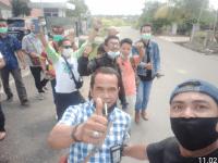 Puluhan wartawan datang Dinas kesehatan Melawi Terkait Penanganan Pasien Covid-19 Isolasi Mandiri kabupaten Melawi