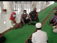Danramil Mempawah Hilir Cek Persiapan Tabligh Akbar di Masjid Agung Al Falah