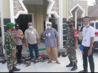 Babinsa Mempawah Hilir Laksanakan Bantuan Pengamanan Venue MTQ XXXI di Desa Pasir