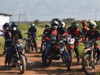 Monitor Wilayah Kapolres Kubu Raya Laksanakan Patroli Karhutla