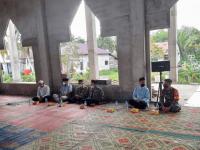 Babinsa Sungai Kunyit Ikut Hadir Silaturahmi Bersama Dewan Masjid Indonesia Kabupaten Mempawah