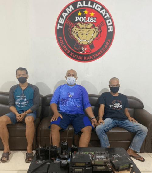 Spesialis Pelaku Pencuri Radio HT, Berhasil di Bekuk Polisi