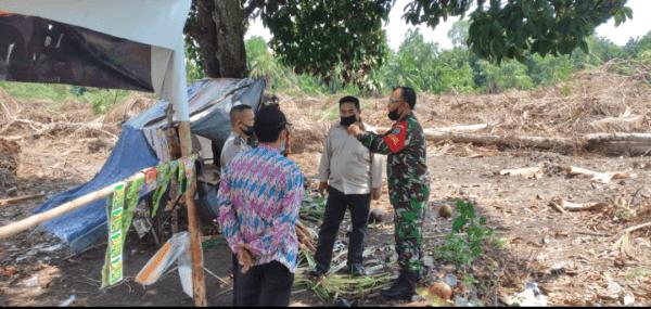 Danramil Mempawah Hilir Tinjau Lokasi Rencana Pembangunan Pondok Pusantren