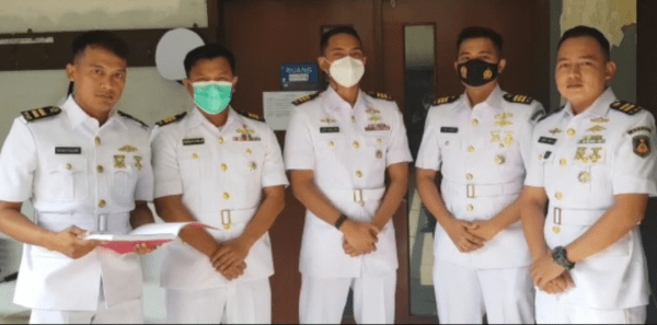 Mahasiswa STTAL S-1 Prodi Teknik Manajemen Industri Angkatan 40 menempuh Ujian Skripsi