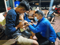 Polres kubu Raya:Tumpahan minyak Di Jalan Trans Kalimantan Sebabkan Kecelakaan Lalulintas