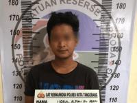 Satresnarkoba Polresta Tangerang Ringkus Seorang Pria Sembunyikan Sabu di Lintingan Uang