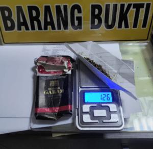 Miliki Narkotika Jenis Tembakau Sintetis Seberat 1,26 Gram, Sat Narkoba Polres Tangerang Tangkap Seorang Pemuda