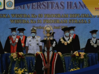 STTAL Hadiri Wisuda Universitas Hang Tuah Surabaya