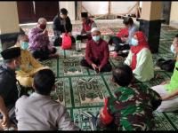Danramil Bersama Jajaran Muspika Mempawah Hilir Sambangi Tempat Ibadah
