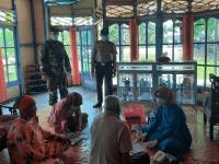 Koramil Sungai Kunyit Dampingi Puskesmas Laksanakan Tes Swab PCR