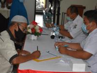 Polres Kubu Raya Gelar Vaksinasi Massal Kepada Personel, Purnawirawan, Warakauri, Dan Keluarga Polri