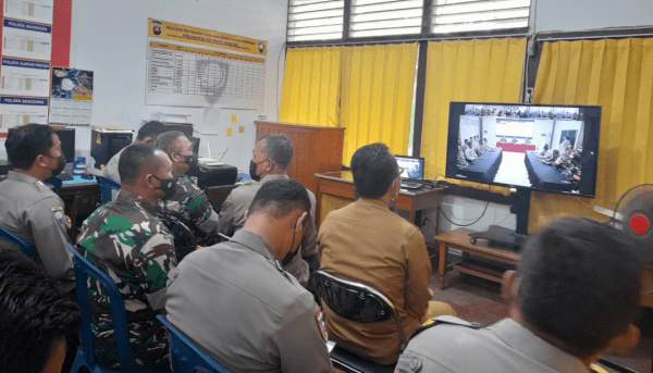 Babinsa Sungai Kunyit Hadiri Sosialisasi Cegah Paham Radikal dan Intoleransi