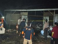 Gudang Penyimpan Kratom Terbakar, Diketahui Kerugian Diperkirakan Sekitar 200 Juta