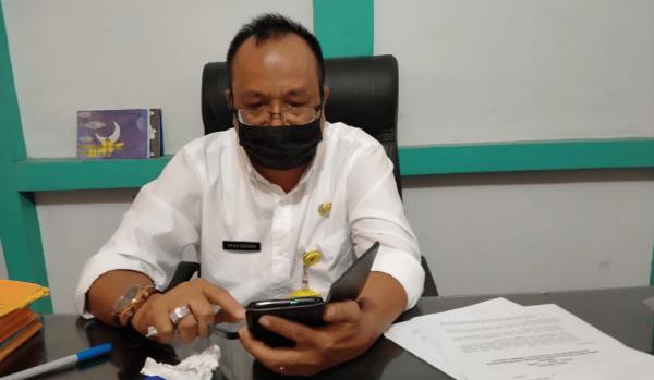 Kadis BPBD Melawi Drs Syafaruddin Menghimbau Masyarakat Melawi Jaga Pertokol Kesehatan 5 M