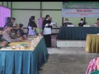 Babinsa Mempawah Hilir Jelaskan Serah Terima Jabatan Perangkat Desa