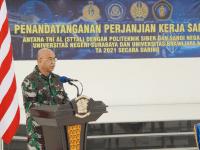 STTAL laksanakan PKS dengan Poltek Siber dan Sandi Negara, Universitas Negeri Surabaya dan Universitas Brawijaya Malang
