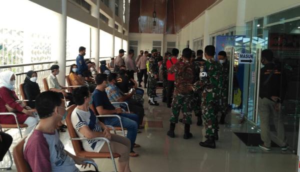 Serbuan Vaksinasi Serentak TNI-POLRI Kabupaten Mempawah