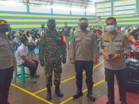 Besok Akan Dilaksanakan Serbuan Vaksinasi Nasional TNI-POLRI Serentak Di 34 Polda
