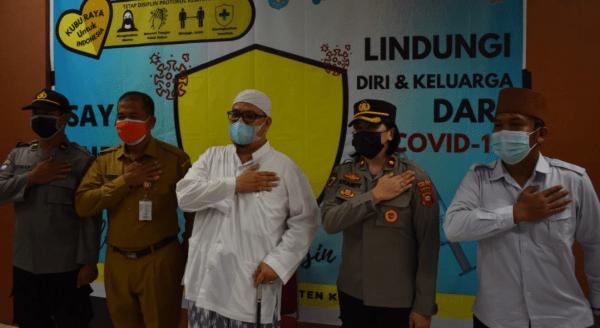 Habib Syarif Muhammad Iskandar Alqadrie Ajak Masyarakat Kubu Raya Sukseskan Program Vaksinasi Covid-19