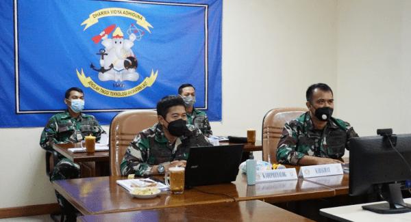 Pamen STTAL Ikuti Rakernis BMN TNI AL TA 2021