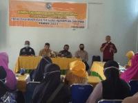 Danramil Hadiri Rapat Sosialisasi Kekerasan Perempuan dan Anak Pada Masa Pandemi Kecamatan Mempawah Timur