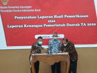 Hasil Pemeriksaan BPK Kalbar, LKPD Kabupaten Sintang Tahun 2020 Diganjar Opini WTP