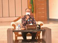 Di Kunjungi Kabid Humas Polda Kalbar, Ini Penjelasan Wakil Bupati Sintang Soal PPKM Mikro