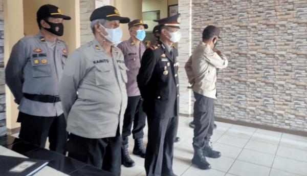 Upcara Hut Bhayangkara Ke 75 Polsek Pontianak Timur Dilaksanakan Secara Virtual