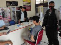 Pelaku Pencurian di Sungai Raya Dalam Berhasil  di Amankan Tim Spartan Sat Samapta Polres Kubu Raya