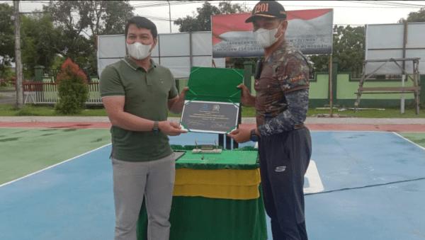 Peresmian Lapangan Bola Voli Kodim 1201/Mph, Program CSR Dari Bank BRI