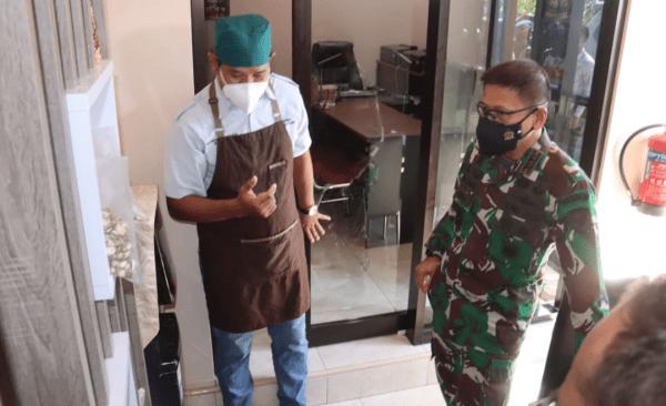 Pangdam XII/Tpr Kunjungi Rumah Produksi Mentaya Sweet