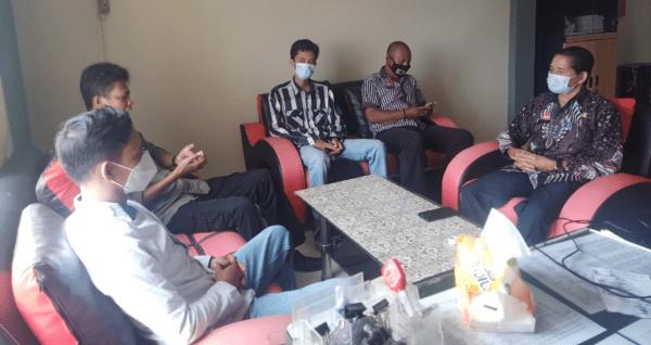 FW & LSM Kalbar Indonesia ,Jalin Komunikasi Dengan Dpmpemdes Kab.Sanggau