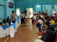 Kapolresta Tangerang Ajak Masyarakat Dukung Program Vaksinasi Massal dan Penerapan PPKM Darurat