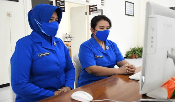Cbs Jalasenastri STTAL Mengikuti Pelatihan dan Ketrampilan Eco Enzyme & Konektor Hijab secara Virtual