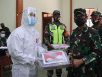 Tinjau Vaksinasi di Kayong Utara, Pangdam XII/Tpr Himbau Masyarakat Tidak Usah Takut dan Ragu
