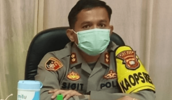 Kapolres AKBP Sigit Eliyanto Nurharjanto : Tahanan Polres Melawi Yang Kabur di Sakadau Sudah di Tangkap Kembali