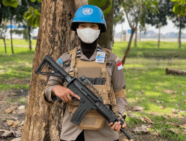 Anak Petani Cabai, Jadi Pasukan Pengamanan PBB