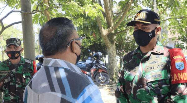 Masyarakat Masih Abaikan Prokes, Pengurus FKUB Pinyuh Sampaikan Keluhan ke Dandim 1201