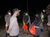 Kapolri Perintahkan Patroli Skala Besar, 1.000 Paket Sembako Disebar Polda Kalbar