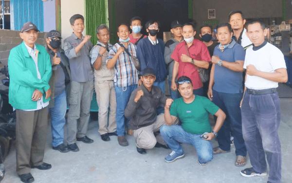 Sekjen FW & LSM Kalbar Indonesia Wawan Daly Suwandi Pimpin Rapat Pembentukan Panitia RAKER