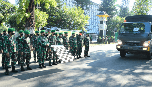 """Pangdam III/Slw: """"Para Dandim Harus Distribusikan Bansos Tepat Sasaran"""""""