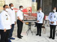 Kemenkumham Salurkan 46 Ribu Paket kepada Masyarakat Terdampak Covid-19