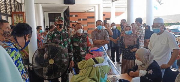 Wilayah Koramil Mempawah Hilir Kembali Gelar Vaksinasi
