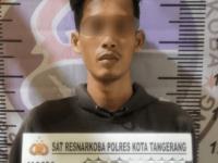 Satresnarkoba Polresta Tangerang Ciduk Karyawan Swasta Simpan Sabu Di Bungkus Rokok