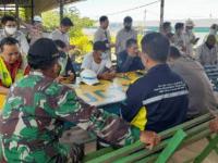 Sambangi Warga Binaan Babinsa Himbau Patuhi Prokes untuk Cegah Covid-19