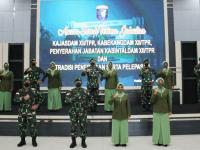 Pangdam XII/Tpr Pimpin Sertijab Pejabat Golongan IV