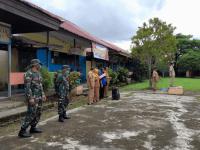 Jelang Upacara HUT RI Ke 76 Koramil Sungai Kunyit Ikuti Gladi Bersih