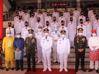 Pangdam XII/Tpr Hadiri Upacara HUT ke-76 Kemerdekaan RI